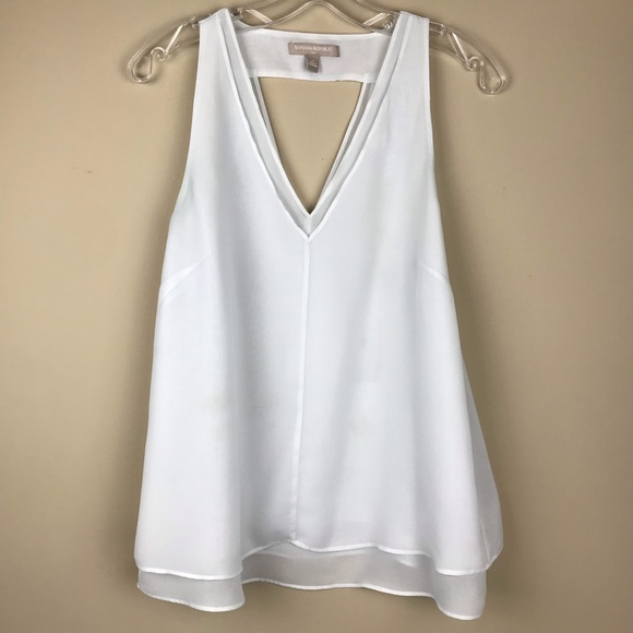 f151624878c7ed Banana Republic Tops | Sleeveless Top Like New | Poshmark